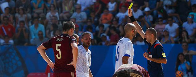 Football referee (Getty)