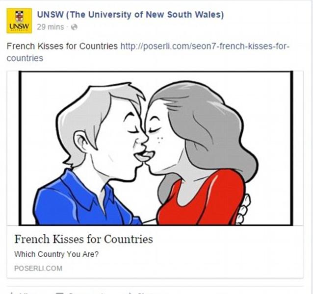 University of NSW Facebook get hacked, hackers post NSFW images of Mia Khalifa and Kim Kardashian