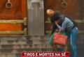 Homeless man dies saving female hostage