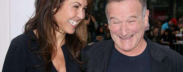 Robin Williams and Susan Schneider (Rex)