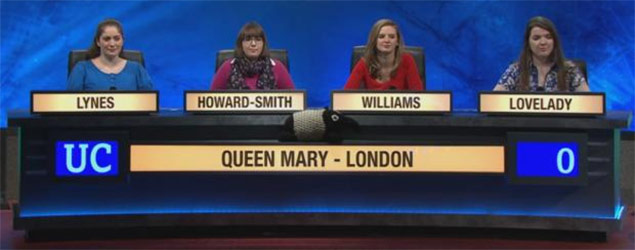 University Challenge contestant creates a buzz (BBC/PA)