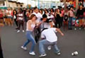 WATCH: Punches fly as women, men brawl at fair