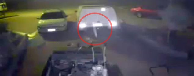 Chilling video claims to show ghost on CCTV (ITN)