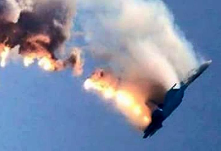 Turquía derriba avión ruso en frontera con Siria
