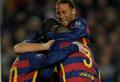 Barça faz 6 na Roma com show do trio MSN