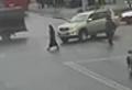 WATCH: Shocking moment car runs over woman