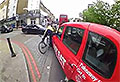 WATCH: Taxi v Cyclist, but who is at fault?