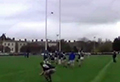 WATCH: One-in-a-million rugby conversion