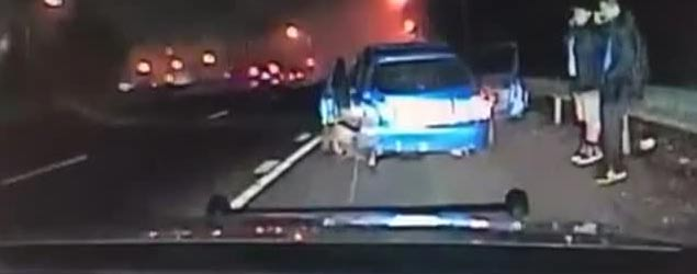 What this police dash cam films next will shock you (Rumble)