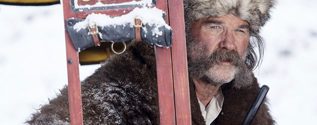 Kurt Russell in The Hateful Eight (Rex)