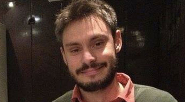 The body of Italian PhD student was found in a ditch nine days after he was reported missing. Picture: Facebook
