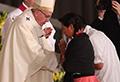 Francisco cumplió uno de sus mayores deseos en la Basílica