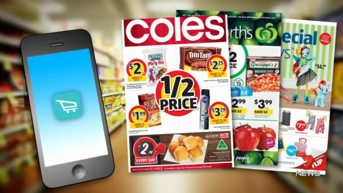Image result for coles woolworths half price