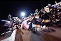 VIDEO: Bike race starts with massive pile-up