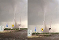 WATCH: Father films tornado while ignoring daughter's pleas