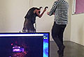 VIDEO: VR zombie game causes panic in the office