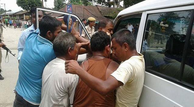 Kokrajhar attack: CM Sarbananda Sonowal meets victims at Gauhati Medical College Hospital