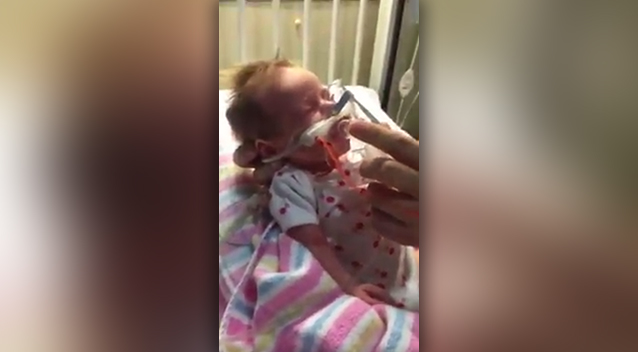 Sydney mother shows the heartbreaking signs of whooping cough