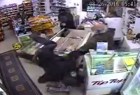 Father and son dairy owners fight off robbers