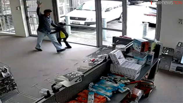 Yr-old Indian girl braves axe-wielding robber in New Zealand burglary