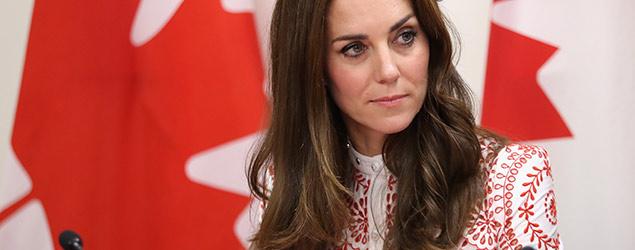 Duchess stuns in bespoke Alexander McQueen dress (PA)