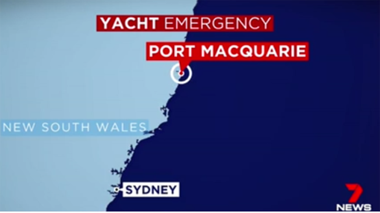 Cruise ship to the rescue of superyacht
