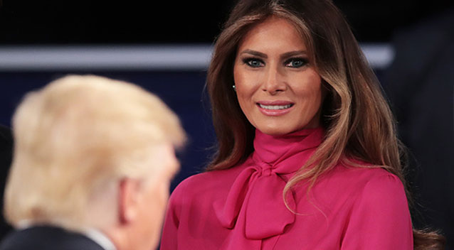 Melania Trump: Donald Was 'Egged On' to Say 'Dirty and Bad Stuff'