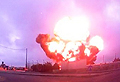 Dashcam captures moment plane crashes in Malta