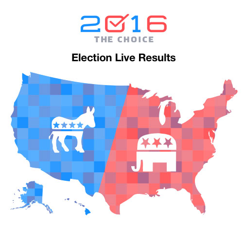 Elections Elections Yahoo News - Map of us without electoral college 2016
