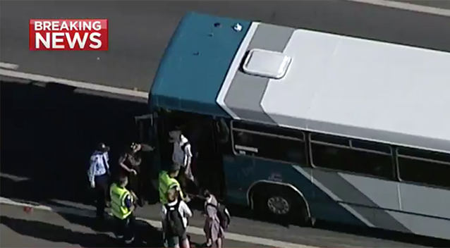 Buses crash - Albion Park, NSW