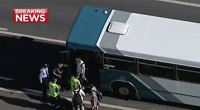 Buses crash - Albion Park, NSW