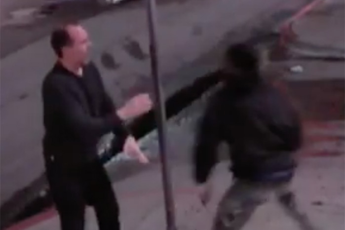 Store owner takes down would-be robber