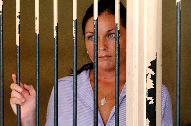 Sara Connor jailed for four years over fatal assault on Bali policeman