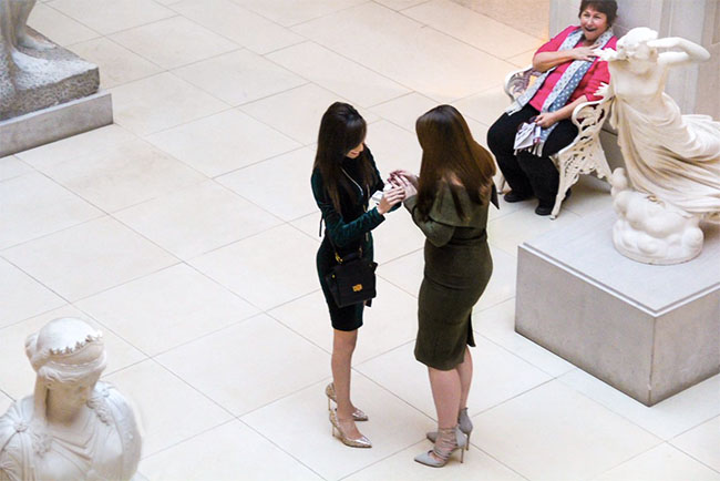 Woman's 'sweet' reaction to proposal gives hope to the LGBT community