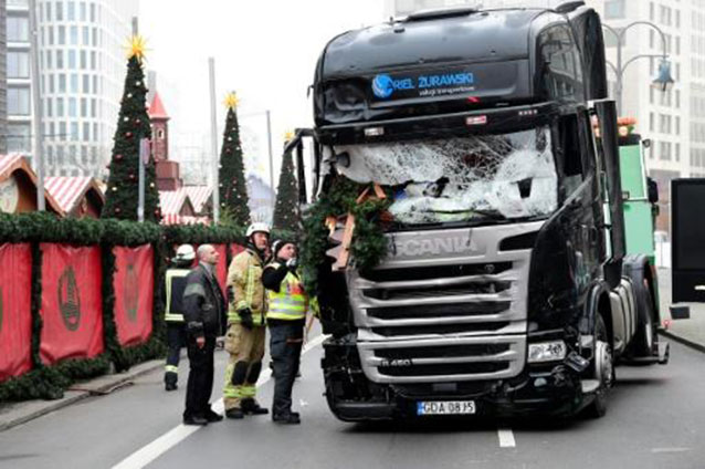 Germany Searching for Possible Accomplices of Suspected Berlin Attacker