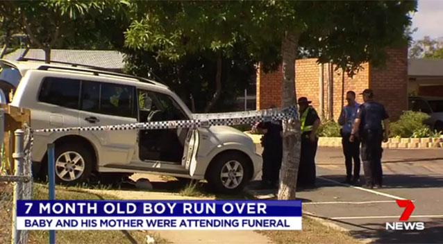 Baby dies after pram hit by auto in Brisbane's south