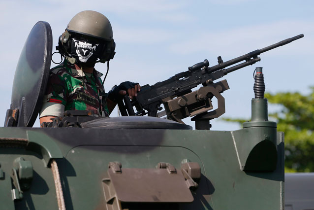 Military Ties Indonesia-Australia Cut Over Offensive Material'