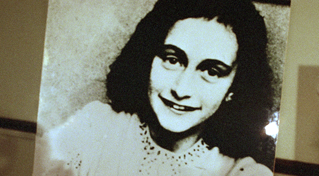 The pendant appears identical to one belonging to Anne Frank