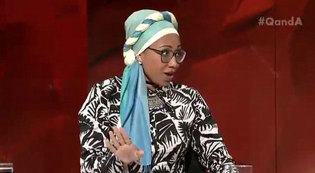 Jacqui Lambie and Yassmin Abdel-Magied exchange barbs over sharia law