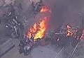 Light aircraft crashes into Essendon shopping centre