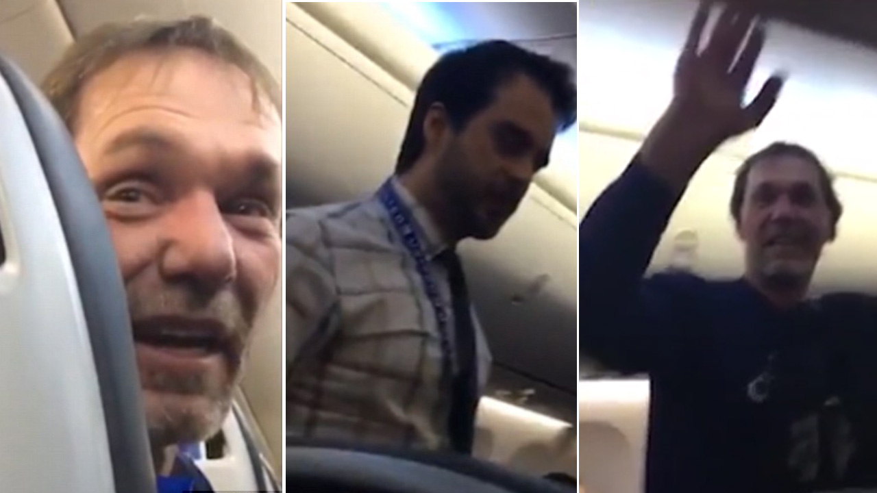 'Goodbye Racist!' Passengers Cheer as Man Booted off Flight