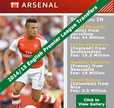 EPL Transfers 2014-15