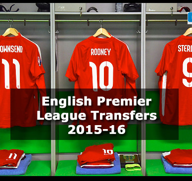 English Premier League Transfers 2015-16