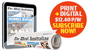 Subscribe to The West Australian