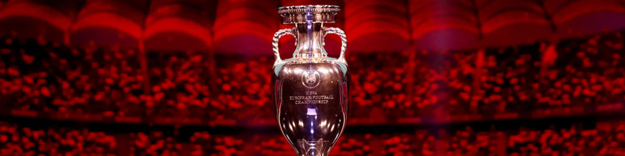 The European Championship trophy (Getty)