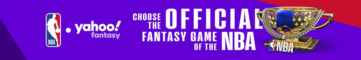 Yahoo Fantasy NBA image, the official fantasy game of the NBA:  Play Fantasy NBA at https://basketball.fantasysports.yahoo.com/