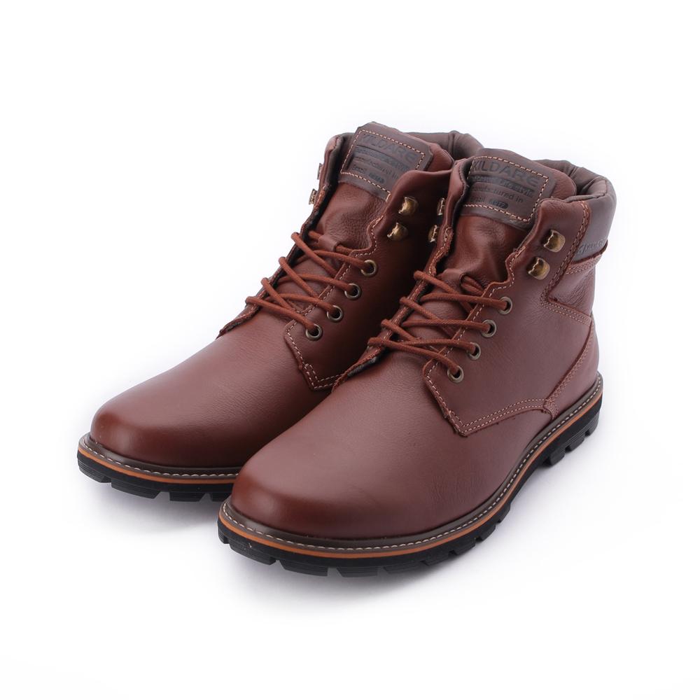 巴西KILDARE STORM SADDLE 真皮粗曠中筒靴 深咖 AL3833-MA 男鞋