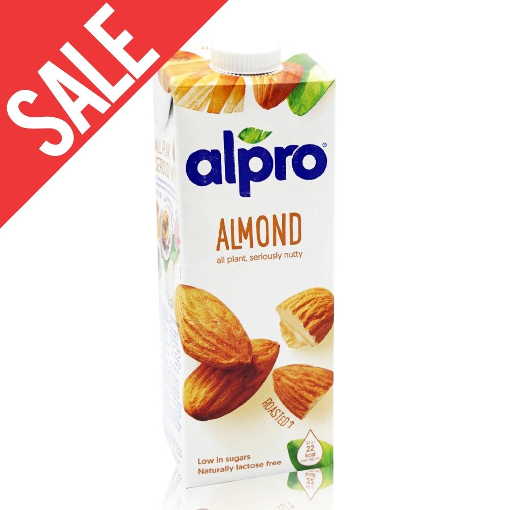 凹罐【ALPRO】原味杏仁奶(1公升) 效期2021/04/26