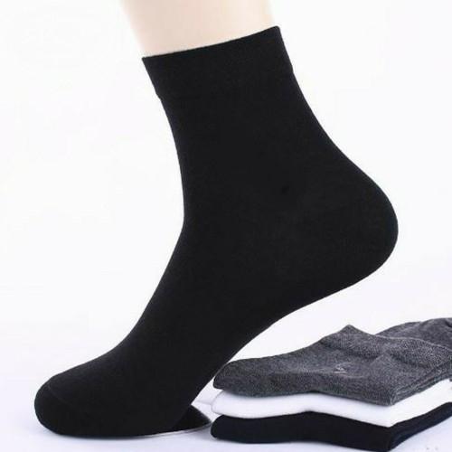 純棉透氣棉襪竹碳纖維男款24-28公分
