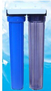台製全屋戶式水塔淨水設備系統20英吋雙道小胖過濾淨水器/20英吋營業商業用除泥砂除氯淨水器